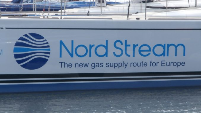 The Nord Stream 2 pipeline will run underneath the Baltic Sea and connect Russia with Germany