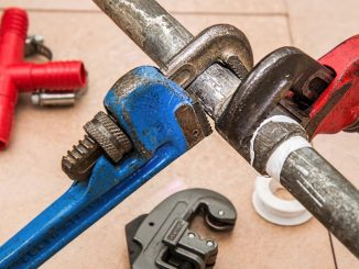 A pipe repair clamp can provide a cheap and easy repair for leaking pipework in domestic settings