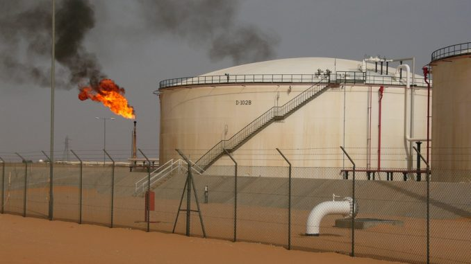 Oil production in Libya has dropped by 94% in the past 11 years due to civil war and creaking infrastructure
