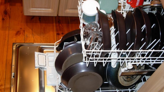 Dishwashers are a type of appliance which use a lot of water for a simple household tasks