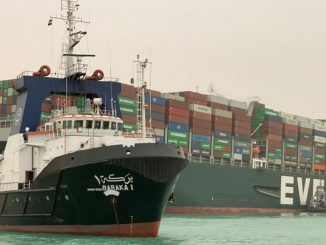 The mega container ship Ever Given has been stuck in the Suez Canal for several days, impacting on global oil shipping