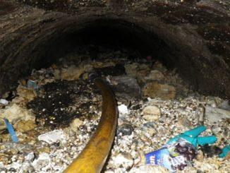 Fatberg build ups can block sewer and wastewater pipes, causing serious problems for water companies and infrastructure