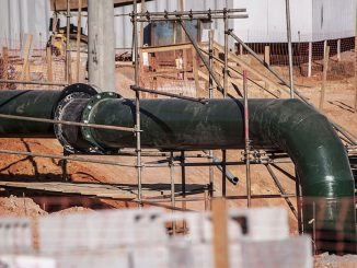 Sulphuric acid pipeline used to be made of ductile cast iron but more are now switching to construction from alloys